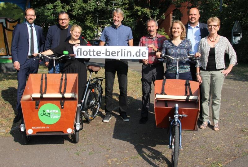 fLotte kommunal: Freie Lastenräder für Spandau und Lichtenberg