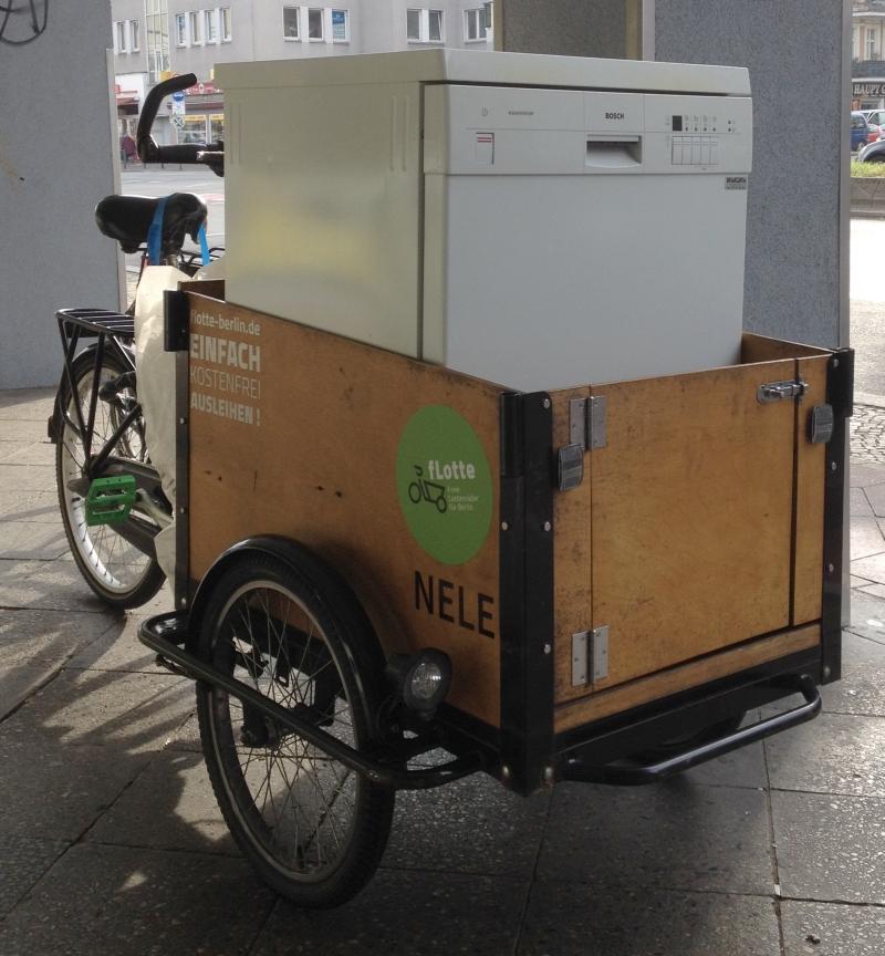 Fahrradanhänger Ausleihen Berlin